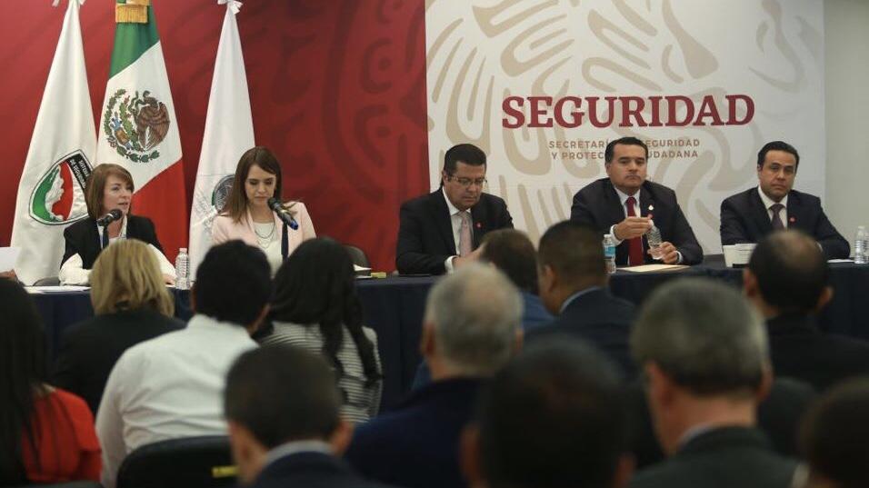 Participa Renán Barrera en primera asamblea del Consejo Nacional de Seguridad Pública