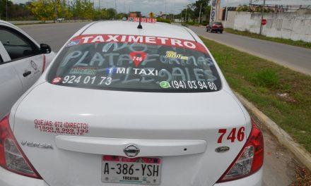 Protesta contra plataformas y registro a reelección en gremio taxista