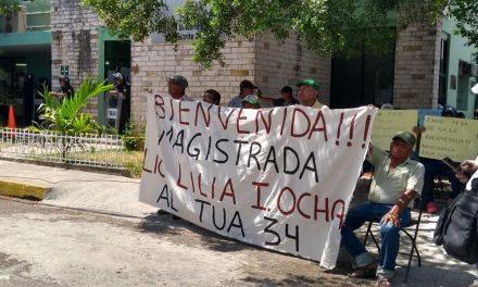 """Victoria de ejidatarios: asume nueva magistrada y ofrece """"corregir"""" (Video)"""