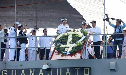 Día de la Marina en Yucatán, homenaje al sector marítimo nacional
