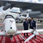 Vila en Francia: reunión con directivos Embraer, Airbus e Innocentro