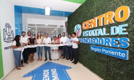 En Maxanú, primer Centro de Estatal de Emprendedores en interior del estado