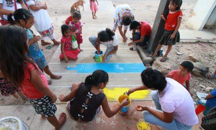 Colectivo Asambleas Ciudadanas y Ecomunnis unen esfuerzos en comisaría de Timul