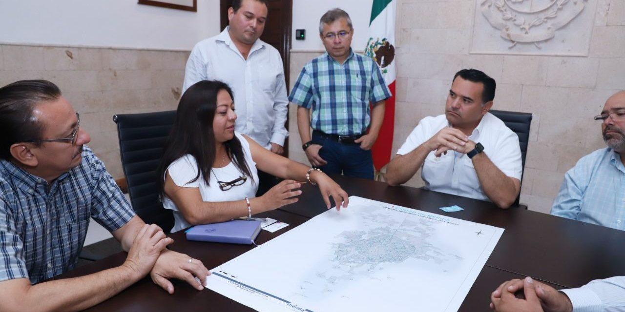 Van por diagnóstico integral de parques, mercados e instalaciones deportivas en Mérida
