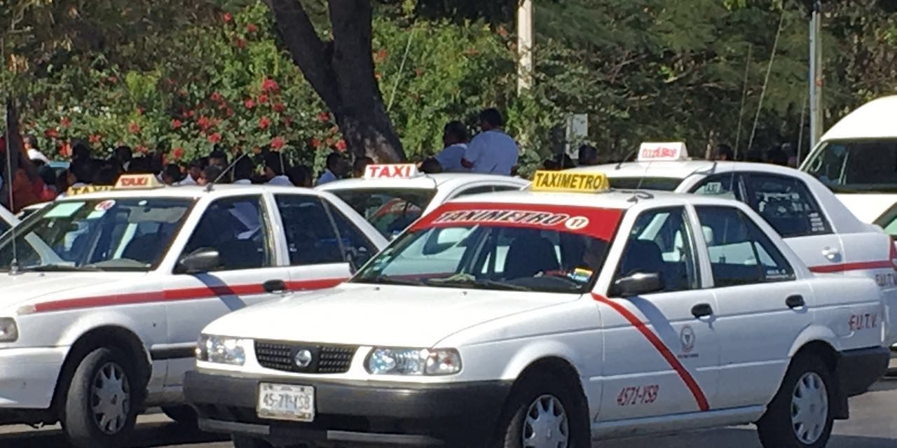 Elección interna de taxistas: 'Nada de golpes ni de agresiones'