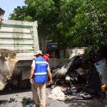 Más de 833 toneladas de cacharros recogidas en colonias y comisarías de Mérida