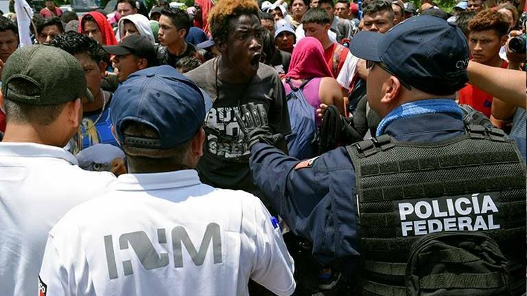 Oficialmente 14 mil migrantes en México por asilo en EU
