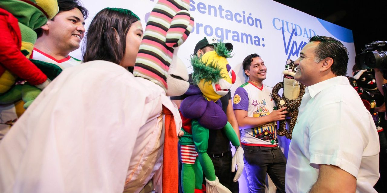 """Renán Barrera presenta """"Ciudad Viva. Artes en Todas Partes"""""""