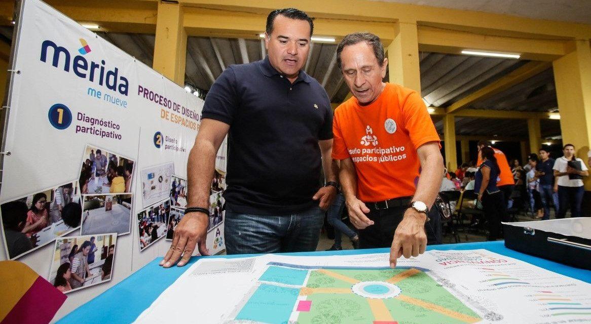 Diseño Participativo de Espacios Públicos en Mérida, con voz de ciudadanos