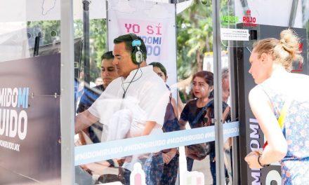 'Mido mi ruido', campaña interactiva, sonora y visual, en centro de Mérida