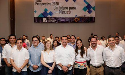 Renán Barrera  destaca papel de  jóvenes en la formación de ciudadanía
