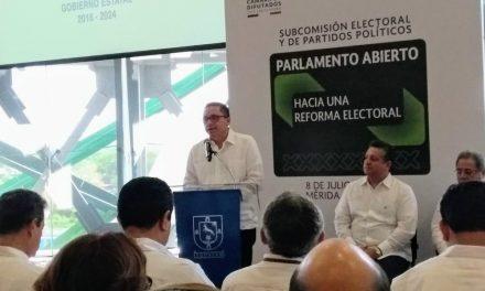 """Abre Foro de Parlamento Abierto """"Hacia una Reforma Electoral"""
