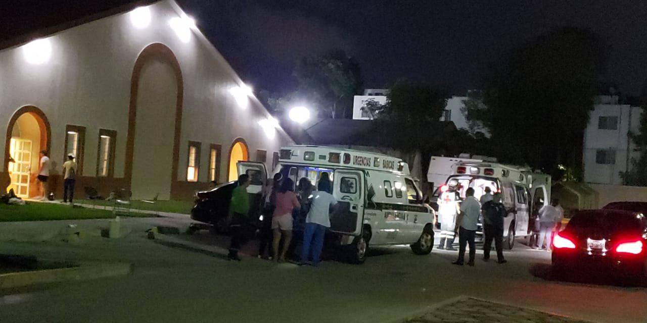 Suman 230 jóvenes intoxicados en Cancún; 14 siguen en hospitales