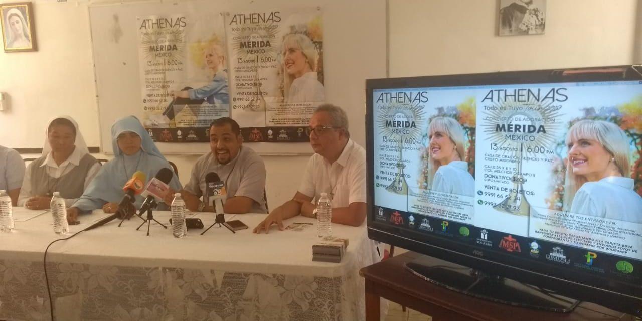 Próximo concierto en Mérida por la paz espiritual, unidad familiar y valores