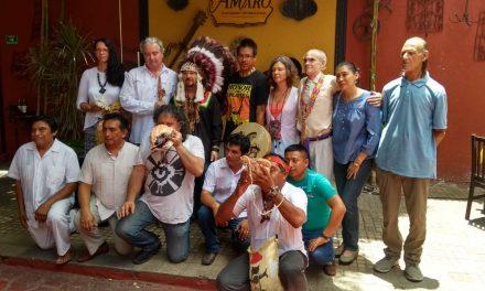 Jefes cheroquis y sacerdotes mayas 'prenderán pipa y fuego sagrado' (Video)