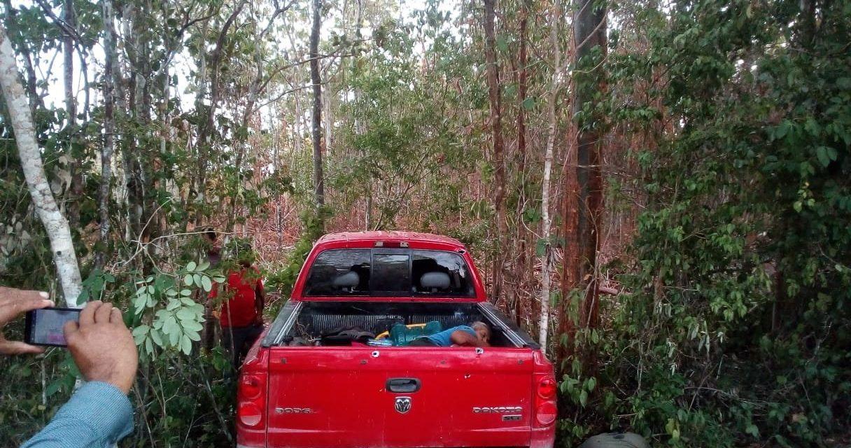 Masacre cerca de Chetumal: ocho ejecutados y dos heridos de bala