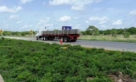 Hallan cadáver tirado en carretera federal Mérida-Campeche