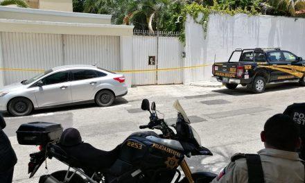 Asalto y disparos en residencia de colonia de Mérida