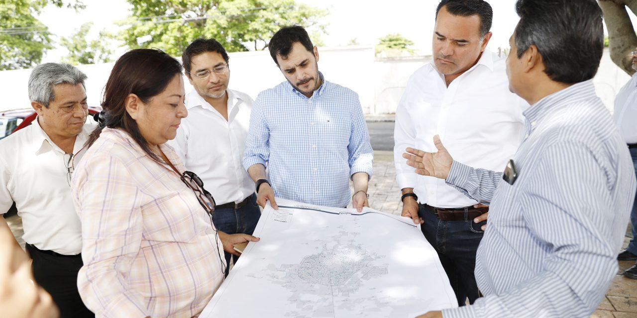 Supervisa Renán Barrera labores de protección civil en parque Xoclán Bech