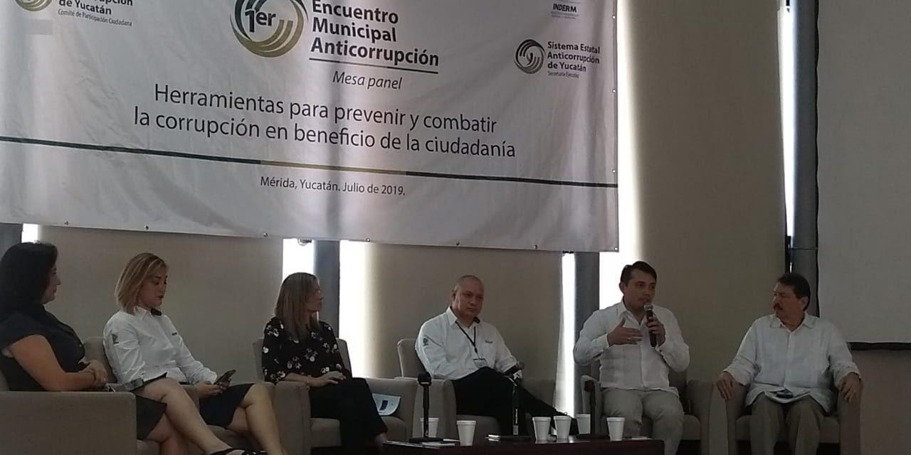 Sientan a alcaldes yucatecos para hablarles de anticorrupción