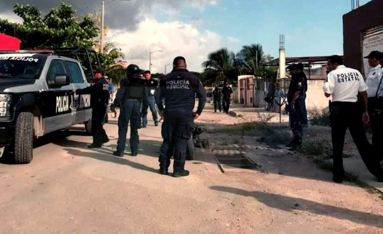 Entran a domicilio de policía en Chetumal y lo ejecutan