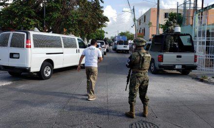 Frustran paso a 61 centroamericanos en Cancún con rumbo a EU