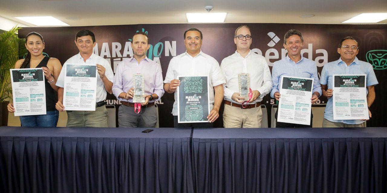 Marat´hon de Mérida enfila hacia red mundial