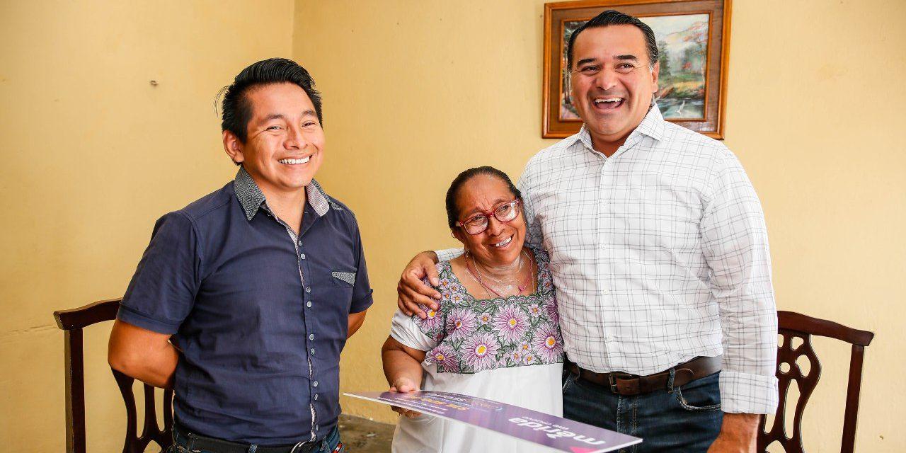 Ciudadanos ven reflejado el pago de sus impuestos en beneficios directos para su familia