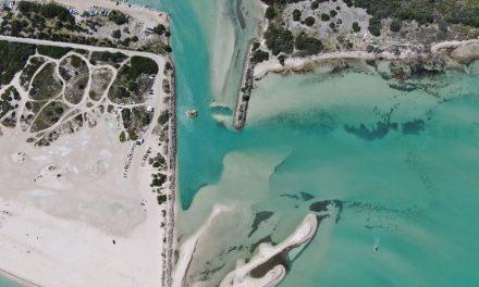 Restauran playas con arena de puertos de abrigo de Chuburná y Telchac