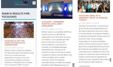 YUCALEAKS: Deslinde y aclaración, desde las redes