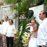 Marcan ausencias aniversario luctuoso de Cervera Pacheco (Video)