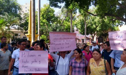 Maestros de Telebachilleratos de Yucatán demandan reinstalación (Video)