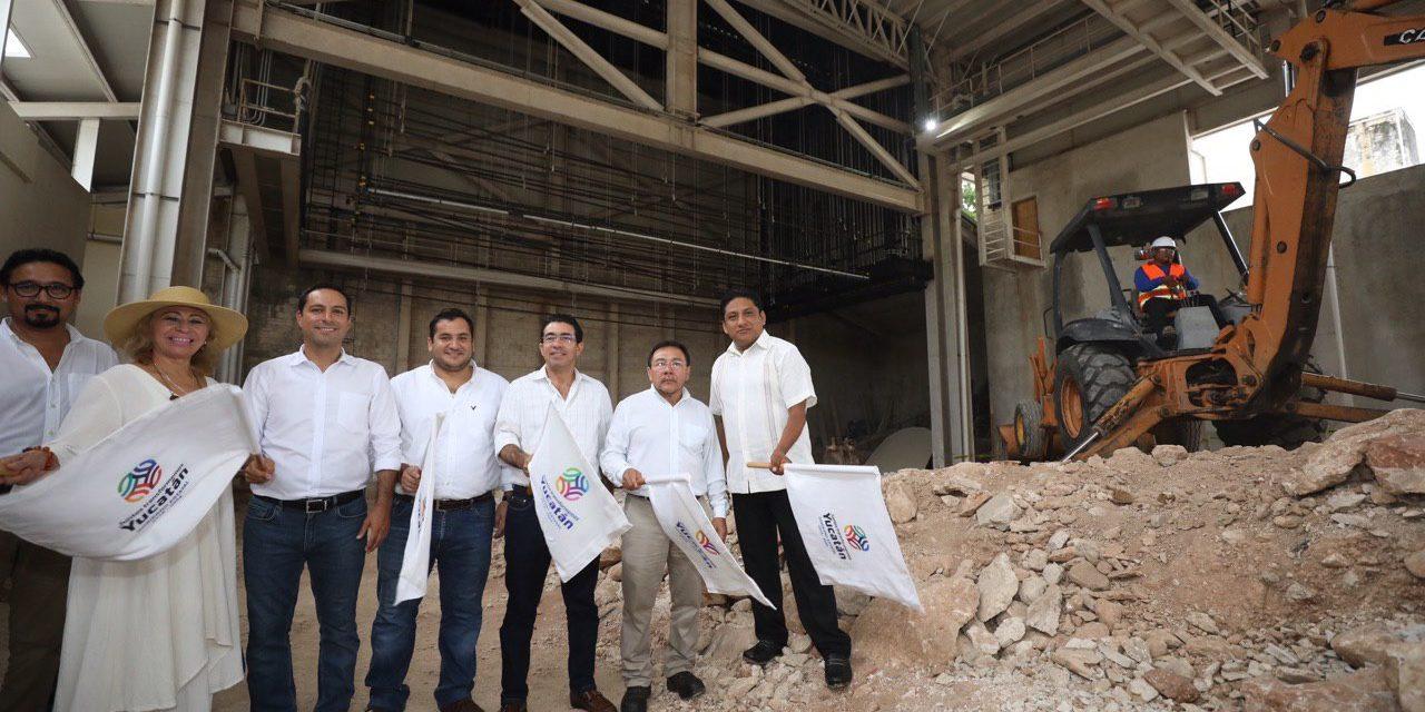 Mauricio Vila pone en marcha obras para concluir teatro de Valladolid