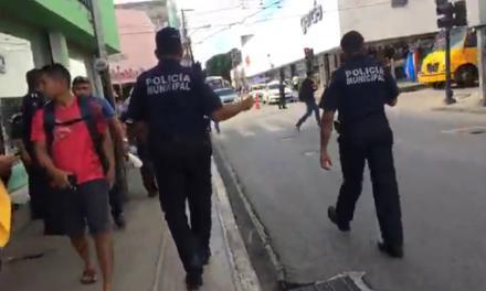 Liberan de ambulantes tramo del Centro Histórico de Mérida