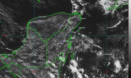 Calor y lluvias, sin cambio en pronóstico para Península de Yucatán