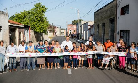 Mejora vialidad con rehabilitación de calle en centro histórico Mérida