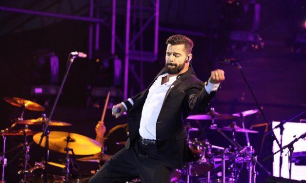 Ricky Martin llena de música y emociones Paseo de Montejo (Videos + Galería)