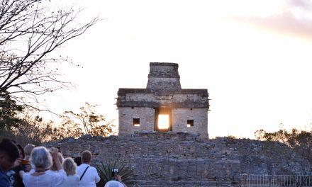 Listos en Dzibilchaltún y Chichen Itzá para equinoccios arqueo-astronómicos de Otoño