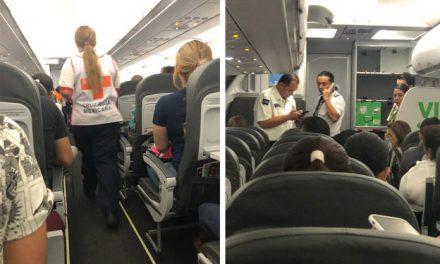 Falsa amenaza de bomba en vuelo a Cancún activa protocolo de seguridad