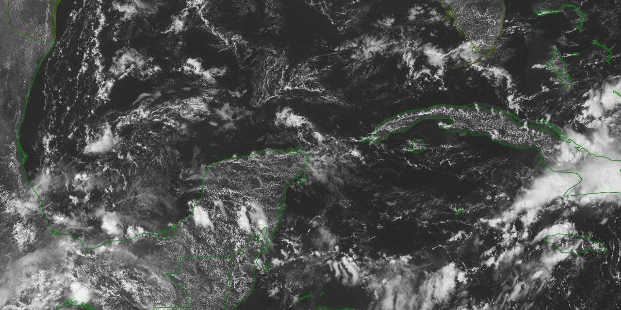Pronóstico de lluvias sábado y domingo en la Península de Yucatán