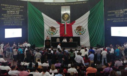 Termina repartición en Congreso de Quintana Roo e instalan directiva