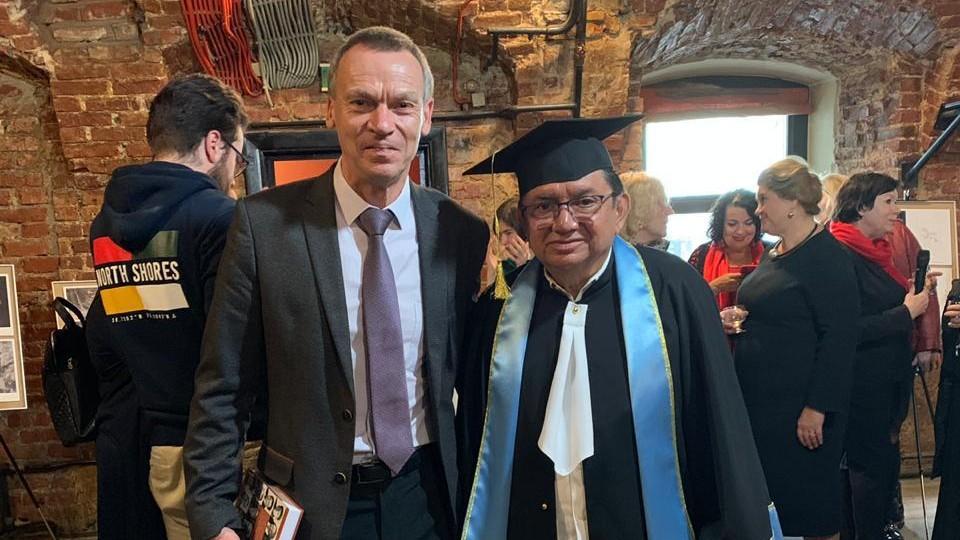 Alfredo Barrera Rubio, Doctor Honoris Causa en Universidad de Rusia