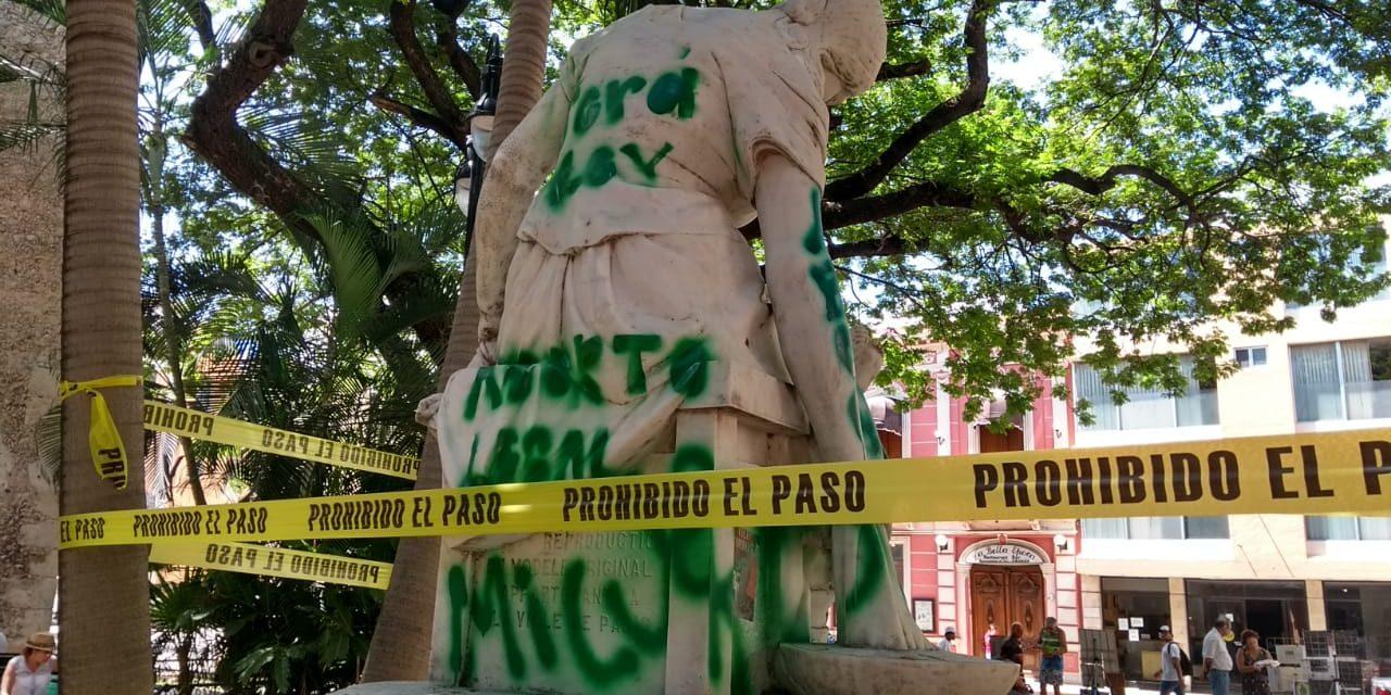 Intervienen INAH y Mérida en Monumento a Maternidad (Video)