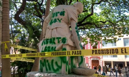 Intervienen INAH y Mérida en Monumento a Maternidad (Video)