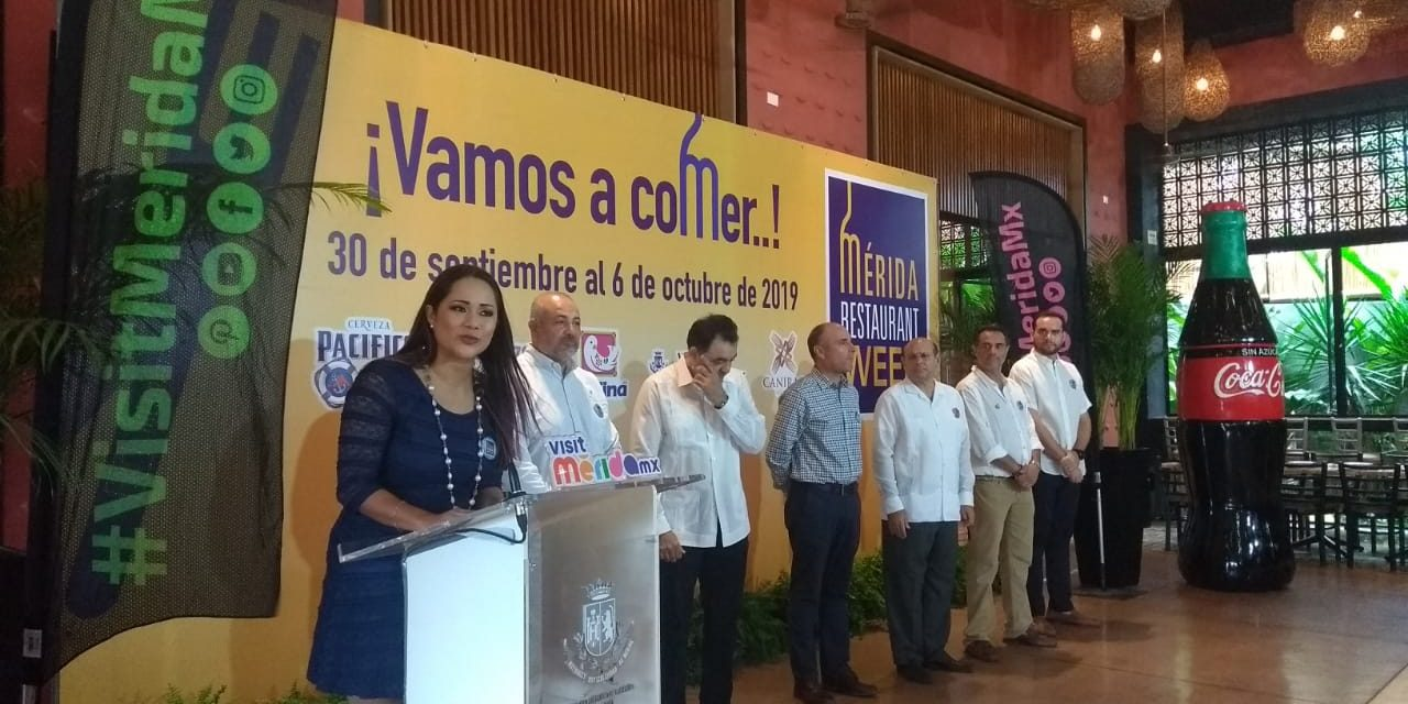 La Semana del Restaurante en Mérida ya inició
