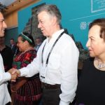 Expresidente Juan Manuel Santos agradecido con 'generosidad' de yucatecos