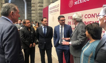Gobierno Yucatán, Sedatu y UNAM colaborarán para mejorar imagen urbana de Progreso