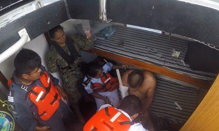 Se accidenta marino polaco en buque tanque y es evacuado a Progreso