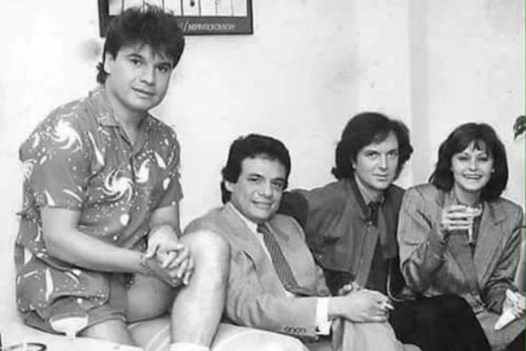 La foto que reúne a Camilo Sesto y a grandes de la música que ya no están