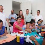 Entrega Renán Comedor Comunitario para familias del Sur de Mérida